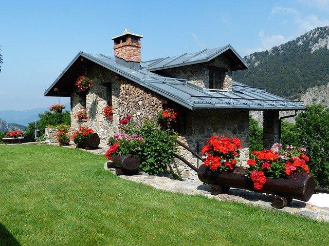 letní dům v horách
