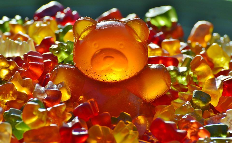 medvídci gumoví